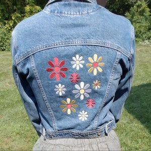 Vintage Gap Blue Jeans jacket special edition